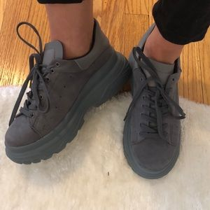 Shoes - Chunky Gray Sneakers
